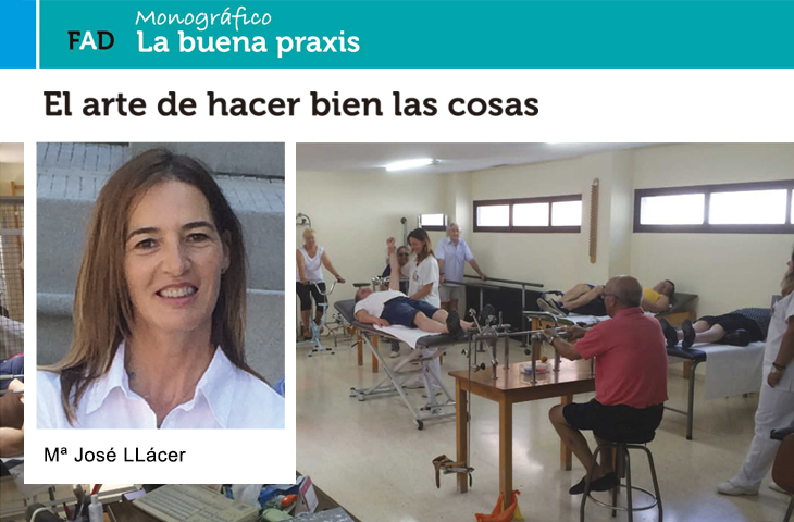 """""""El arte de hacer bien las cosas"""" (la buena praxis en la sanidad pública) Fisioterapia. ICOFCV"""
