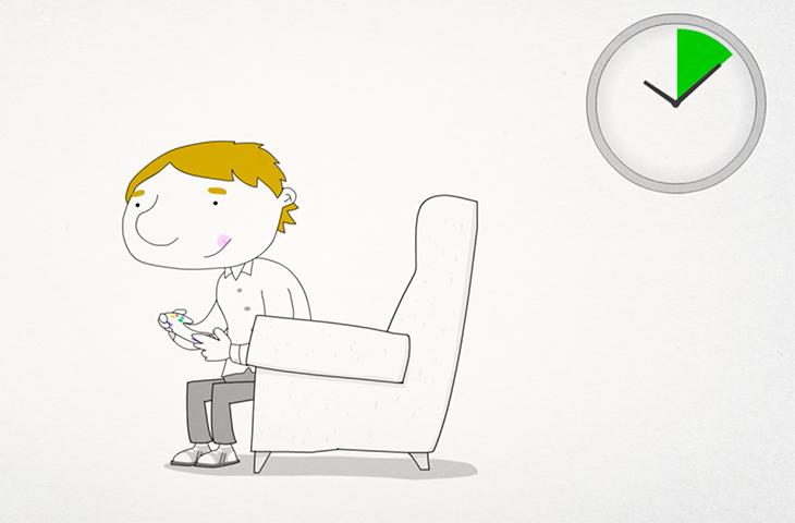 Cambiar de postura con frecuencia y llevar una vida activa, los mejores aliados para ser un buen 'gamer'