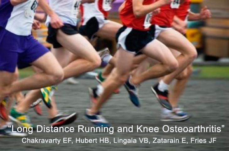 Correr largas distancias no incrementa el riesgo de sufrir artrosis de rodilla