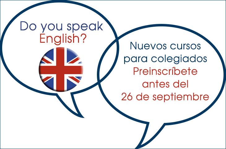 El Colegio de Fisioterapeutas de la C. Valenciana abre nuevos cursos de inglés para sus colegiados