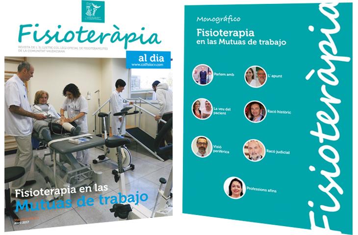"""Nuevo número de la revista colegial FAD con un monográfico sobre """"Fisioterapia en las Mutuas de Trabajo"""""""
