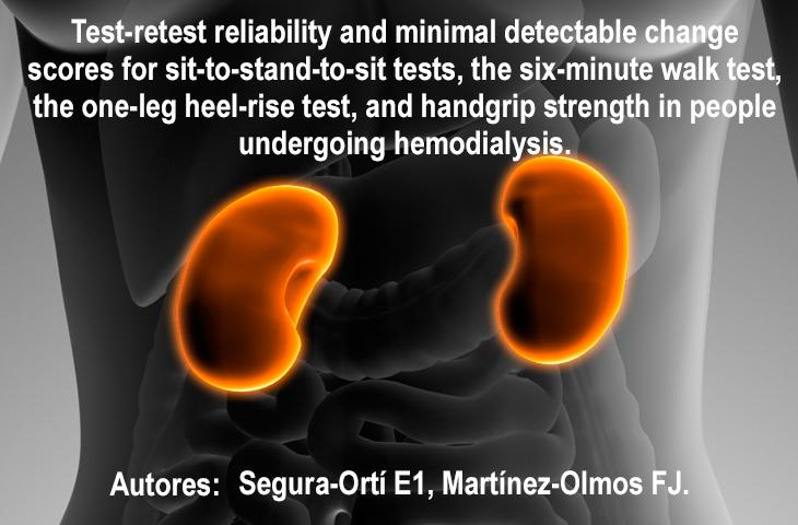El ejercicio terapéutico tiene un impacto positivo en los pacientes con insuficiencia renal crónica