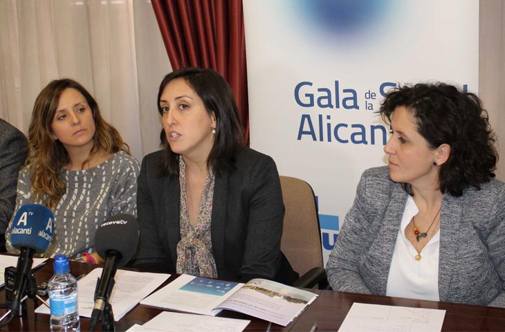 Los colegios profesionales del ámbito sanitario de la provincia de Alicante presentaron la VII Gala de la Salud