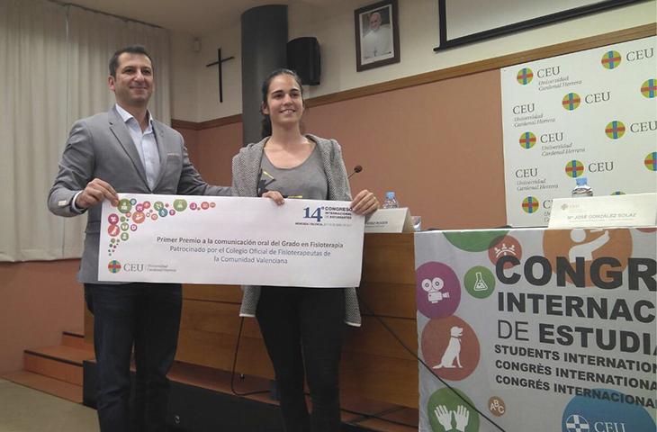 El Colegio colaboró con el XIV Congreso Internacional de Estudiantes de la UCH-CEU