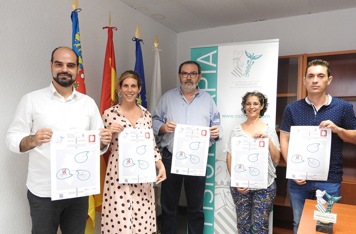 La concejalía de Acción Social de Alicante colabora en la V Jornada Solidaria del Colegio de Fisioterapeutas