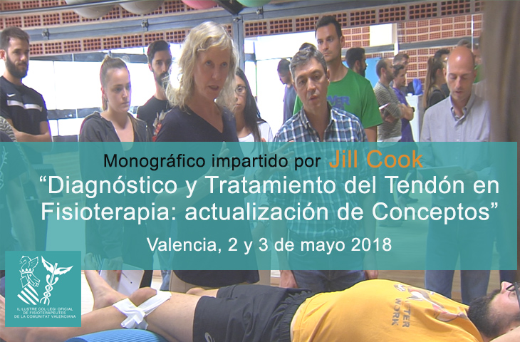EL ICOFCV vuelve a traer a Valencia a Jill Cook para impartir un curso sobre los últimos avances en el tratamiento de las tendinopatías