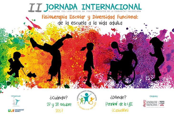 La II Jornada Internacional del ICOFCV reunirá a expertos nacionales e internacionales en el ámbito de la educación y la diversidad funcional