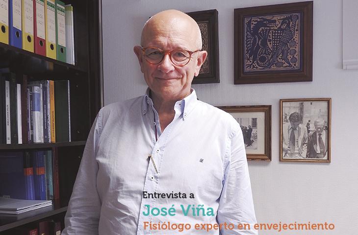"""José Viña: """"A través del ejercicio terapéutico y mediante la aplicación de los conocimientos que tiene no sólo en patologías específicas sino también en los síndromes propios del anciano, el fisioterapeuta puede cambiar el perfil social"""""""