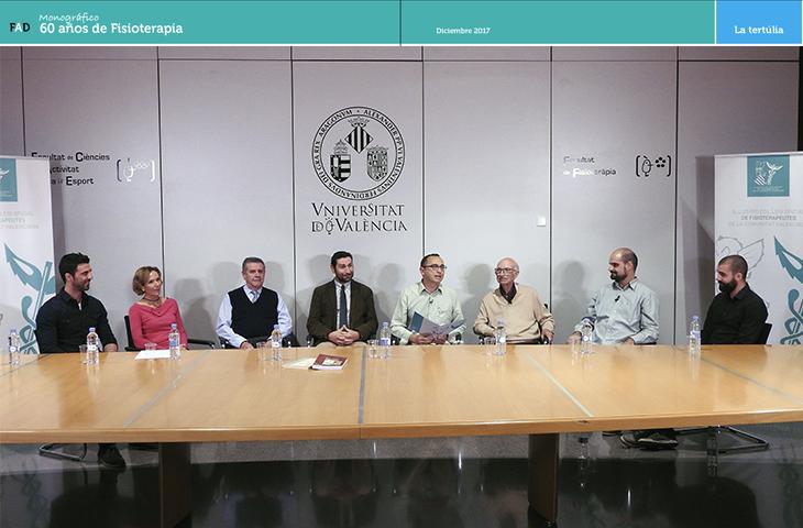 La tertúlia... pasado, presente y futuro de la Fisioterapia - Colegio Fisioterapeutas C Valenciana
