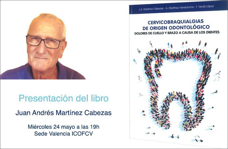 "¡No te pierdas el último libro de ATM!: ""Cervicobraquialgias de origen odontológico"""