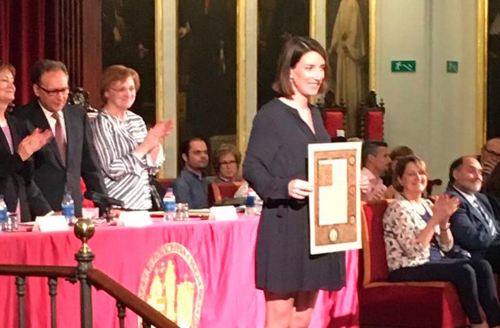 Nuestra colegiada Marta Inglés, Premio Extraordinario de Doctorado de la Universidad de Valencia