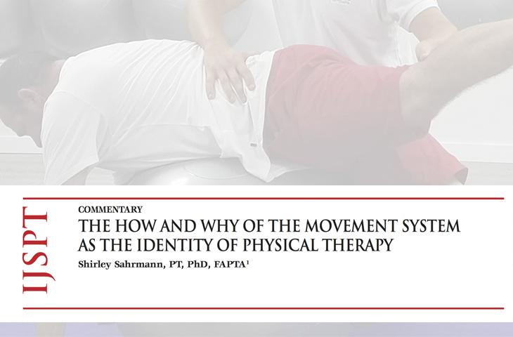 El cómo y porqué del sistema de movimiento como identidad de la Fisioterapia - Colegio Fisioterapeutas Comunidad Valenciana