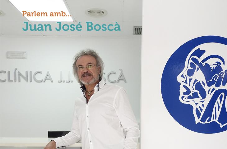 """Juan José Boscà: """"La fisioterapia aporta resultados instantáneos y duraderos en el tratamiento de todas las alteraciones de la esfera craneomandibular"""""""