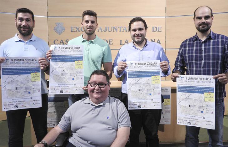 El Colegio de Fisioterapeutas de la Comunidad Valenciana presenta la IV Jornada Solidaria en el Ayuntamiento de Castellón