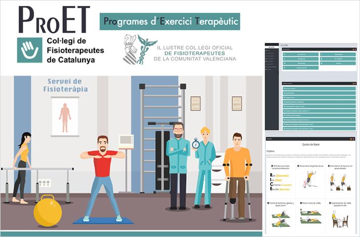 Nueva Plataforma de Ejercicio Físico Terapéutico, gratuita a través de la intranet del Colegio