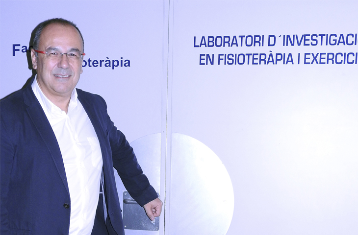 Entrevista del ICOFCV a Ramon Aiguadé -Colegio de Fisioterapeutas de Cataluña