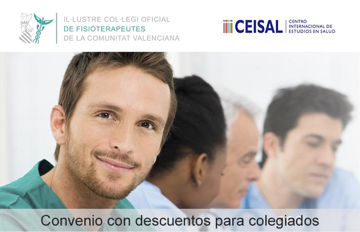 El ICOFCV firma un convenio de colaboración con Ceisal, centro internacional de estudios de la salud