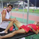 Entrevista a Ángel Basas, coordinador de Fisioterapia de la Real Federación Española de Atletismo