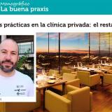 Buenas prácticas en la clínica privada: el restaurante. Fisioterapia