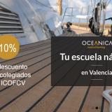 Convenio entre el Colegio de Fisioterapeutas y la escuela náutica Oceánica