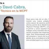 Entrevista a Pablo Davó Cabra, Asesor Técnico en la World Confederation for Physical Therapy
