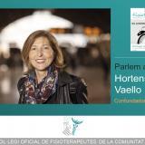 Parlem amb... Hortensia Vaello, confundadora del ICOFCV (monográfico XX Aniversario Colegio)