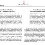 Publicada convocatoria oposición para fisioterapeutas de la Conselleria de Justicia y Administración Pública