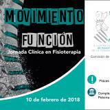 """El ICOFCV celebra el 10 de febrero la Jornada clínica """"Movimiento y Función"""" en Fisioterapia"""