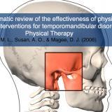 La efectividad de las intervenciones de terapia física para los trastornos temporomandibulares (revisión sistemática)