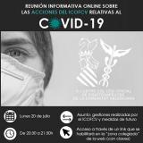El ICOFCV celebrará una reunión informativa online sobre las acciones relativas al Covid-19 el próximo lunes 20 de julio
