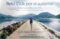 """El ICOFCV apoya a David Sanz en su """"Reto 150k por el autismo"""" que llevará a cabo este sábado 21 de noviembre"""