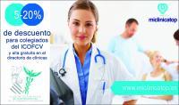 El Colegio firma un convenio de colaboración la plataforma sanitaria online Miclinicatop
