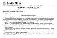 Abierta convocatoria de pruebas selectivas para bolsa de trabajo Fisioterapeuta para Centro de Educación Especial en Castellón