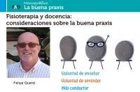 Fisioterapia y docencia: consideraciones sobre la buena praxis - Revista FAD Colegio Fisioterapeutas CV