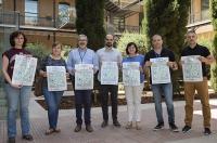 Presentación de los carteles de la VI Jornada Solidaria en el Ayuntamiento de Valencia
