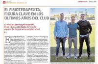Centenario del Valencia CF: el fisioterapeuta, figura clave en los últimos años del club