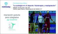 """Conferencia online gratuita para colegiados de Miclinicatop sobre """"La pubalgia en el deporte: fisioterapia y readaptación"""""""