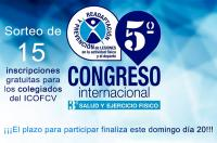 El ICOFCV abre el sorteo de 15 inscripciones entre sus colegiados para el Congreso JAM 2019