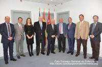 El Consejo General de fisioterapeutas y el de enfermeros establecen vías de colaboración en beneficio de los pacientes