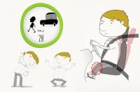 Cambios posturales y descansar durante el viaje, claves para evitar accidentes en vacaciones