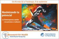 Próximo 8 de septiembre, Día Mundial de la Fisioterapia