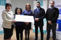 El Colegio de Fisioterapeutas de la CV recauda y dona más de 2.000 euros a las asociaciones de personas con autismo
