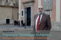 """Francisco Santolaya: """"Si un fisioterapeuta está trabajando con pacientes es obligatorio que esté colegiado y la Administración tiene que exigir dicho requisito a ese profesional, es más debería exigirlo al hacer el contrato"""""""