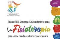 """Nueva campaña del ICOFCV: """"La Fisioterapia pone color a tu vida. Acude a tu fisioterapeuta""""."""