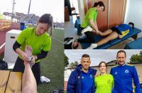 El Campeonato Nacional de fútbol masculino sub14 y sub16 dispuso de fisioterapeuta gracias al convenio de la FFCV con el ICOFCV