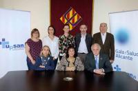 Los colegios profesionales del ámbito sanitario de la provincia de Alicante han presentado esta mañana la VI Gala de la Salud