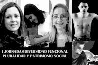 """Valencia acoge el próximo lunes 6 de junio las """"I Jornadas sobre Diversidad Funcional: pluralidad y patrimonio social"""""""
