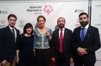 El decano acudió en representación del ICOFCV a la Gala de Special Olympics España celebrada en Madrid