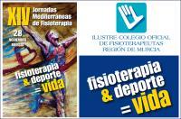 "28 de noviembre, XIV Jornadas Mediterráneas ""Fisioterapia & Deporte = Vida"" en Murcia"