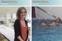 La veu del pacient: Javier Valera y Raquel Ortiz, usuarios de fisioterapia en las mutuas - ICOFCV